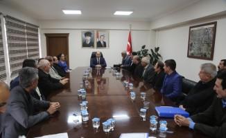 Silopi'de SYDV mütevelli heyetine muhtar temsilcileri seçildi