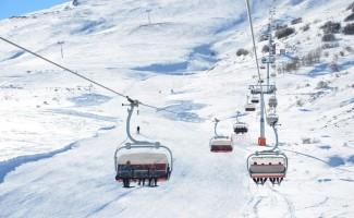 Sivas'ın 'Yıldız'ı kayak sezonunu açıyor