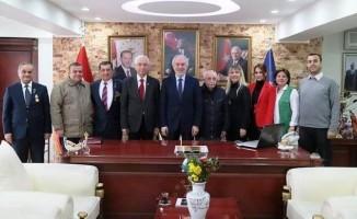 STK'lardan Başkan Saraçoğlu'na ziyaret