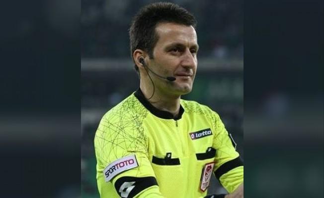 Suat Arslanboğa bu sezon ilk defa Kayserispor maçında düdük çalacak