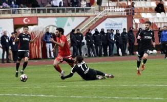 TFF 2. Lig: Gümüşhanespor: 1 - Kastamonuspor 1966: 2