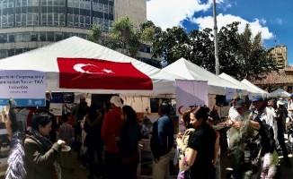 TİKA Kolombiya'da Uluslararası Göçmen Festivali'nde Türkiye'yi tanıtıyor