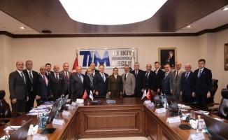 """TİM Başkanı Gülle: """"Hedef, dış ticaret fazlası veren Türkiye'dir"""""""