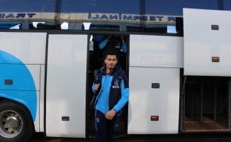 Trabzonspor, Beşiktaş maçı için İstanbul'a gitti