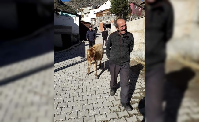 Yabani hayvanlara ve soğuk kış şartlarına rağmen dağda tek başına 3 ay yaşadı