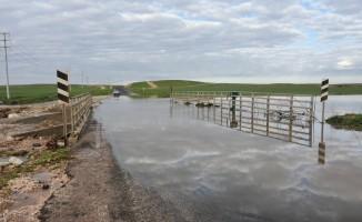 Yağışlı hava yaşamı olumsuz etkiledi