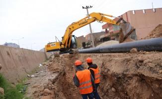 Yarım asırlık Kızıltepe içme suyu hattı yenileniyor