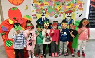 Yenimahalleli minikler Yerli Malı Haftası'nı kutladı