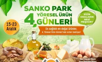 Yöresel Ürün Günleri 4'üncü Kez Sanko Park'ta