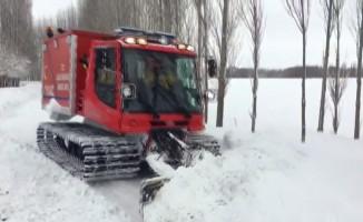 112 ekiplerinin karla sınavı