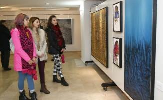 """""""3 Erbil 3 Bakış"""" sergisi ziyaretçilerin beğenisine sunuldu"""