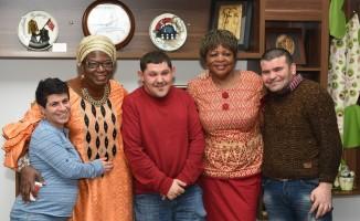 Afrikalı büyükelçi eşlerinden Çorum ziyareti