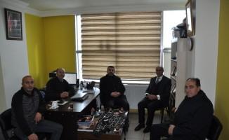 AK Parti Kars Belediye Başkan adayı Erdoğdu'dan  İHA'ya ziyaret