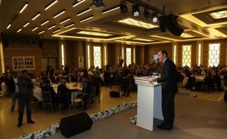 AK Parti Zeytinburnu'nda vefa yemeği