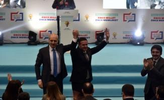 AK Parti'nin Burdur belediye başkan adayları Numan Kurtulmuş tarafından tanıtıldı
