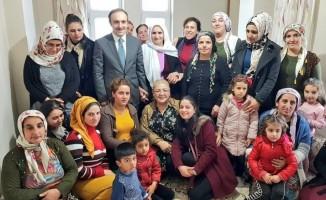 AK Parti'nin Hakkari adayına yoğun ilgi