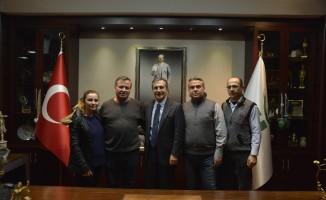 Avdanlılardan Başkan Ataç'a ziyaret