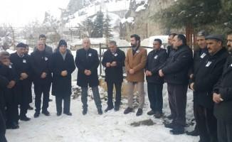 Avukat Cumhur Keskin, mezarı başında anıldı