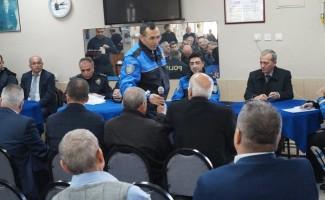 Aydın polisinden huzur toplantısı