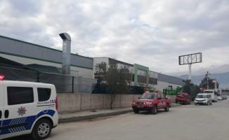 Aydın'da fabrika yangını korkuttu