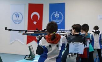 Aydın'da okullar arası atıcılık şampiyonası yapıldı