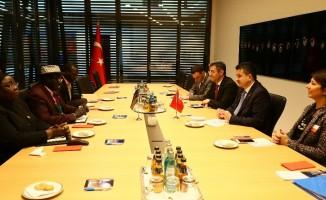 Bakan Pakdemirli, Güney Sudan Tarım ve Gıda Güvenliği Bakanı ile görüştü