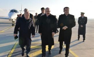 Bakan Soylu, Erzurum'da 'Seçim Bölge Güvenlik Toplantısı'na katıldı
