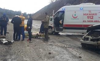 Balıkesir'de kaza: 1 yaralı