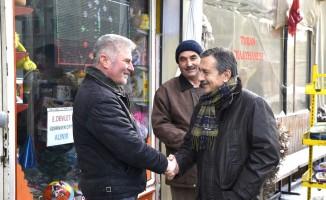 Başkan Ataç'tan Eskişehirli esnaflara 'hayırlı işler' ziyareti