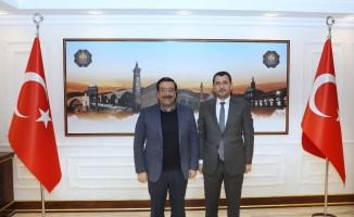 Başkan Atilla'ya ziyaretler sürüyor