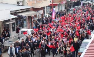 Başkan Çerçioğlu, Bozdoğanlı kadınlarla birlikte yürüdü