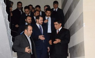 Başkan Dere'den Bakan Albayrak'a dosya