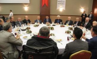 Başkan Gürkan basın mensuplarıyla bir araya geldi