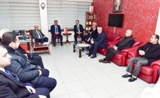 Başkan Gürkan, esnaf temsilcileri ile istişarede bulundu