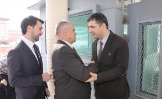 Başkan Öztürk Emniyet ve SGK'yı ziyaret etti