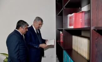 Başkan Polat, Kültür A.Ş.'yi ziyaret etti