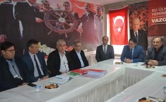 Başkan Serkan Acar'dan MHP ve AK Parti teşkilatlarına ziyaret
