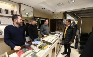 Başkan Subaşıoğlu seçim çalışmalarına Kaleiçi'nden başladı