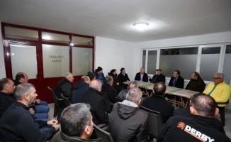 Başkan Yaşar, Yeni Mücevherkent sakinleri ile buluştu