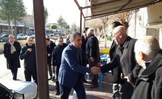 Başkan Yüksel, Tepe Mahallesi esnafıyla buluştu