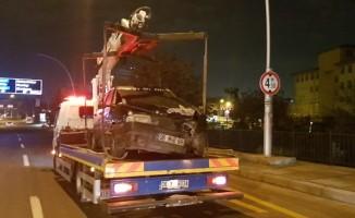 Başkent'te zincirleme trafik kazası: 2 yaralı