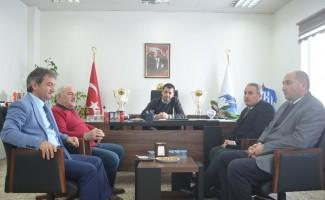 BB Erzurumspor yönetimine hayırlı olsun ziyareti