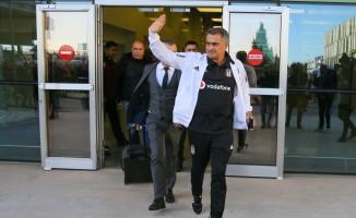 Beşiktaş kafilesi, İzmir'e geldi
