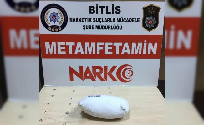 Bitlis'te 270 gram metanfetamin ele geçirildi