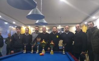 Bitlis'te 3 Bant Bilardo İl Birinciliği Turnuvası