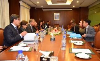 BM Genel Kurulu Başkanı Espinosa, Pakistan'a geldi