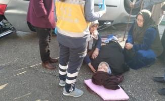 Bursa'da feci kaza! Sollama yaparken takla attı
