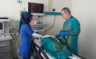 Bursa'da şok! 9 aylık bebek iğne yuttu