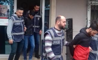 Bursa'da villa hırsızları kıskıvrak yakalandı