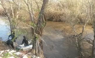 Büyük Menderes Nehri'ne düşen şahsı JÖAK arıyor